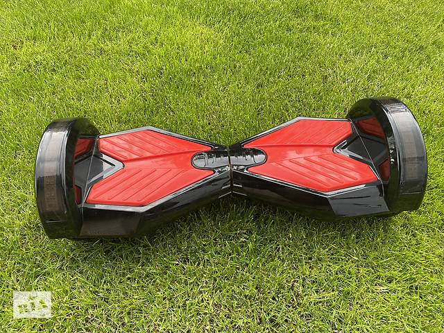 купить бу Гироскутер Smart Balance Lambo U6 LED 8 дюймов Black-red в Киеве