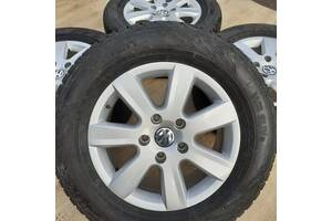 Б/в Диски + шини VW orig R17 5x130 7,5j Touareg Porsche Volkswagen Таурег