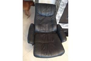 Маникюрное кресло, кресло кожаное релакс в салон, кресло кожаное