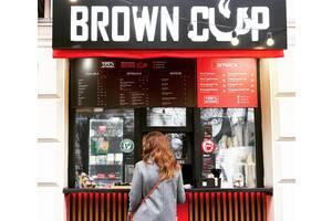 Продається кав'ярня мережі Brown Cup в центрі Києва