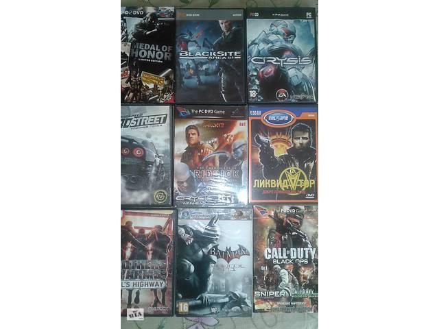 Диски с играми на РС огромный выбор- объявление о продаже  в Киеве