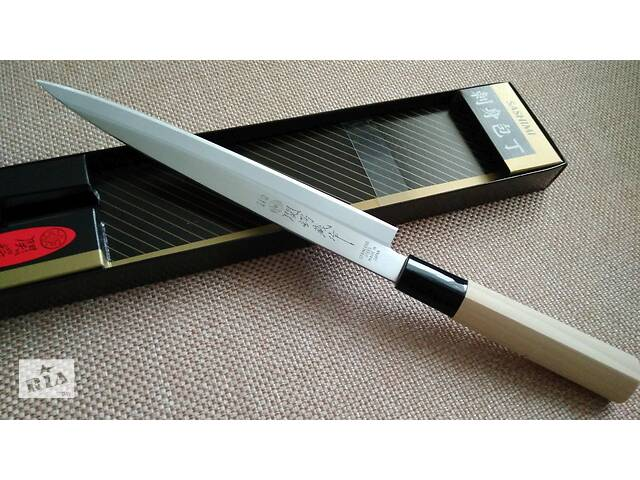 продам Японский профессиональный кухонный нож для суши Tsubazo Yanagiba бу в Львове