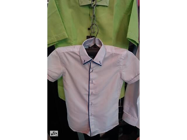 продам  Рубашки для мальчиков , рост 110 - 190 см,цвета разные, опт и розница бу в Киеве