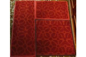 коврик дорожка под ноги 4 шт, палас ковёр 62. 62, 105, 210 см.