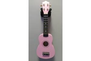 Укулеле сопрано FZONE розовая + запасные струны в подарок!