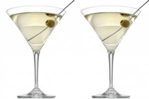 Набор бокалов для мартини,6 шт 215 мл.