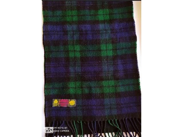 Шарф Murray Brothers 100% шерсть (Lambswool). Шотландия (Scotland) Новый- объявление о продаже  в Одессе