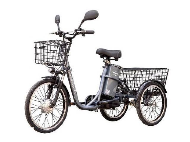 бу Электровелосипед трехколесный грузовой HAPPY (литий) + реверс в Одессе