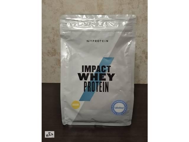 купить бу Протеин MyProtein Impact Whey Protein 1 kg банан в Мариуполе