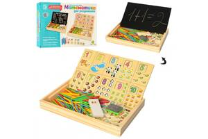 Деревянная игра Обучение счету для умников