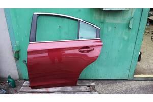 Дверь голая задняя левая Subaru Legacy BN/B15 цвет H2Q VENETIAN RED PEARL 15-19