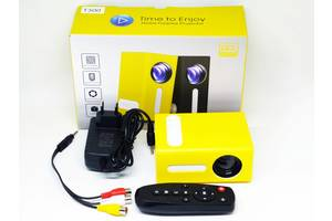 Міні проектор портативний мультимедійний Led Projector T300