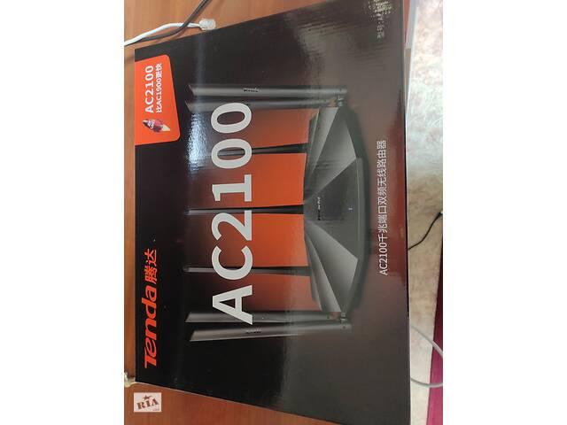 купить бу Tenda AC21 гігабітний 2-х диапазоный AC2100, 200 кв. м, мультипрошивка в Харькове