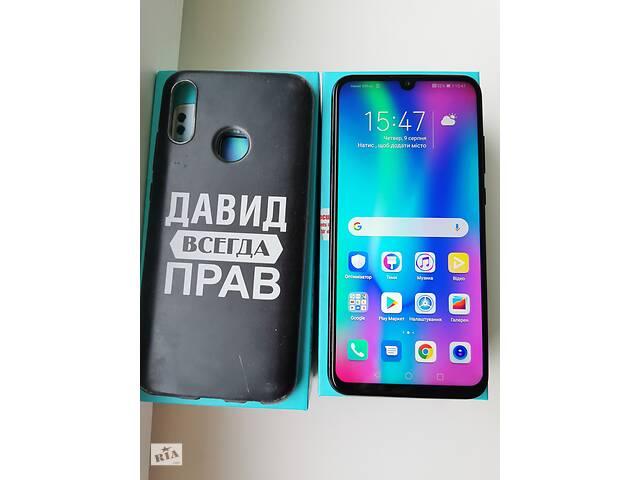 купить бу Смартфон Huawei Honor 10 Lite (HRY-LX1) 3/32 DUAL SIM Black в Києві
