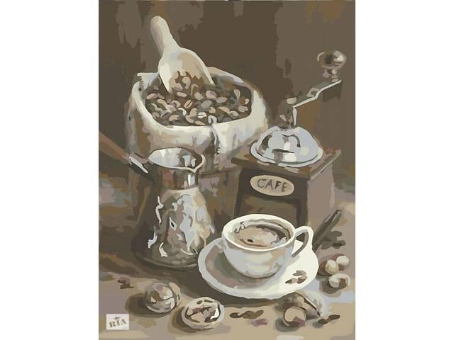 бу Картини за номерами зерна кави десерт кавомолка сніданок чашка чай Квіти Пейзаж натюрморт кіт в Херсоне