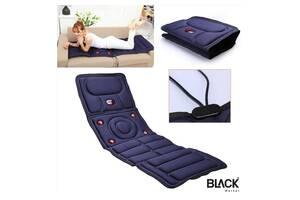 """Універсальний масажний матрац """"Massage mat prof+"""" з підігрівом від 220 В з дистанційним управління ДУ"""