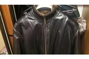Шкіряна чоловіча куртка розмір ХL