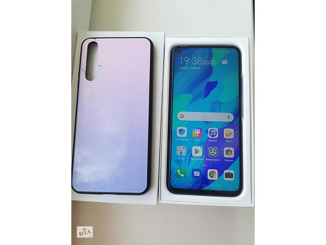 бу Смартфон Huawei Nova 5T 6/128Gb (YAL-L21) Midsummer Purple DUAL SIM в Киеве