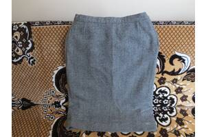 Шерстяная импортная юбка с подкладкой