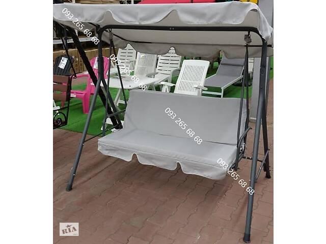 Садовая качель 3-х местная, гойдалка, качеля.До 210 кг- объявление о продаже  в Киеве