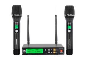 Радиомикрофон Freeboss FB-U58 UHF (Металлический) Радиосистема Радио микрофон беспроводной