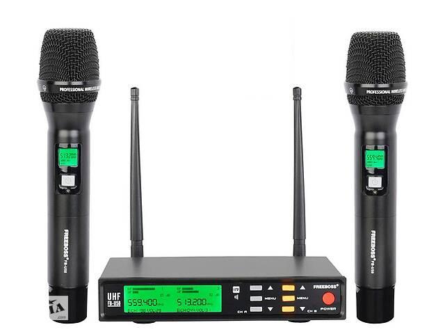 Радиомикрофон Freeboss FB-U58 UHF (Металлический) Радиосистема Радио микрофон беспроводной- объявление о продаже  в Каменском (Днепродзержинск)