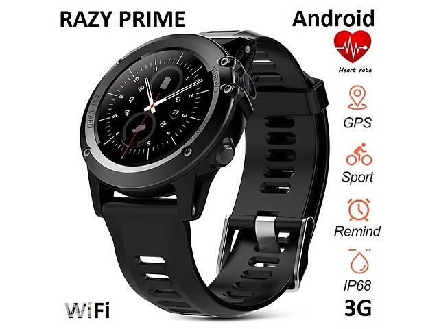 бу Розумні водонепроникні годинник Smart Watch Premium RAZY на базі Android 3G WiFi IP68 GPS в Києві