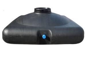 Бак для душа пластиковий Рото Європласт з насадкою лійкою 150 л