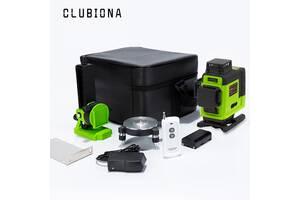 CLUBIONA IE16R Обновленный 4D Лазерный Уровень / Нивелир + Пульт