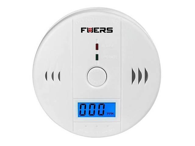 Датчик угарного газа бытовой сигнализатор CO Fuers JKD6021 Белый (100203)- объявление о продаже  в Киеве