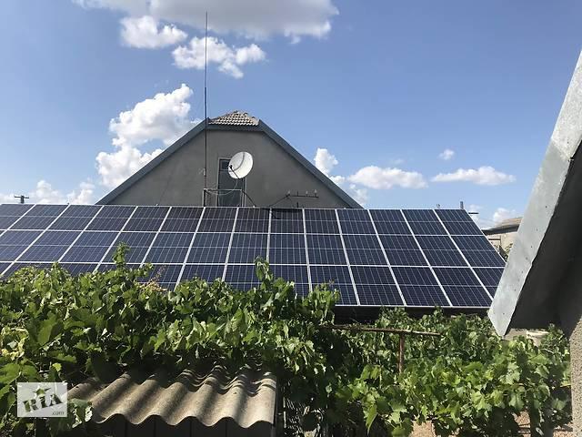 Домашняя сетевая солнечная электростанция 5 кВт- объявление о продаже  в Измаиле
