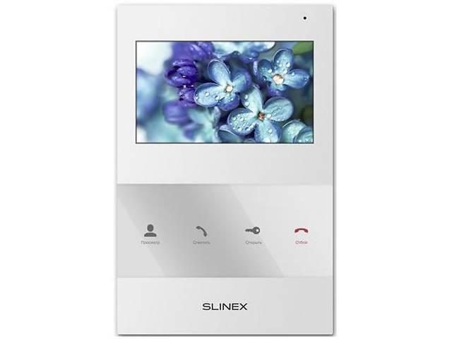 продам Видеодомофон Slinex SQ-04_W бу в Киеве