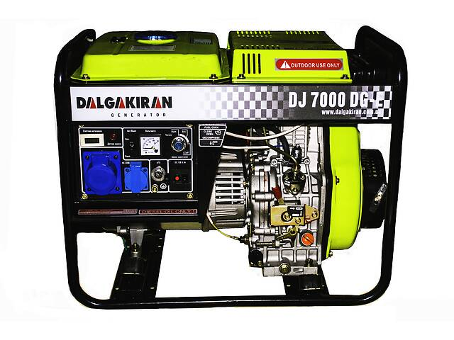 продам Генератор дизельный Dalgakiran DJ 7000 DG-E бу в Одессе