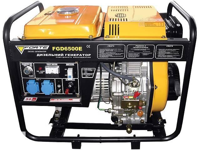 Генератор дизельный FORTE FGD6500E 4,5 кВт