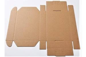 Картонна коробка 320×220×75мм бура самозбірна