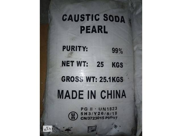 Каустик, натр едкий, каустическая сода- объявление о продаже  в Запорожье