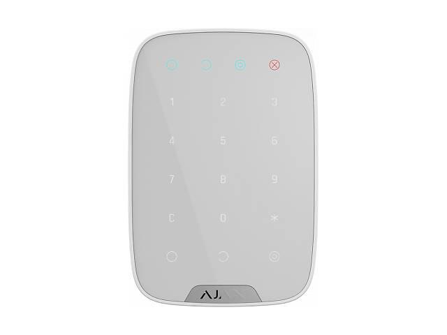 купить бу Клавиатура к охранной системе Ajax KeyPad white (KeyPad) в Харькове