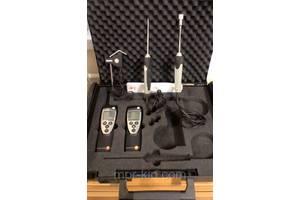 Комплект термогігрометр Testo 625 і термометр з 3 змінними зондами Testo 922 (-50…+1 000 °C) в Кейсі. Німеччина