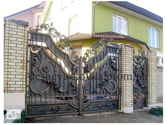 бу Кованые ворота  в Виннице