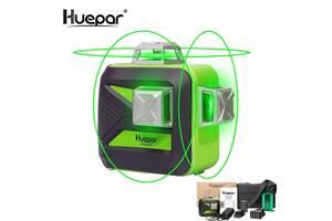 Лазерный 3D Уровень Нивелир Huepar HP-603CG 12 Зеленых Линий