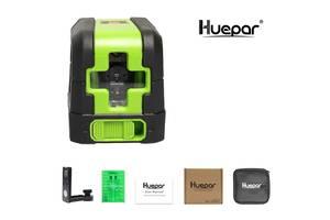 Лазерный нивелир зеленый луч Huepar HP-9011G уровень OSRAM