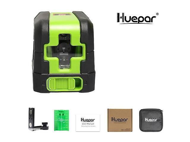 купить бу Лазерный нивелир зеленый луч Huepar HP-9011G уровень OSRAM в Луцке