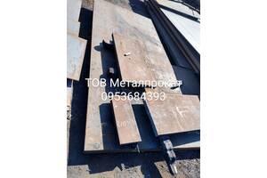 Металопрокат, лист стальний, сталь 45, 09Г2С, 30ХГСА