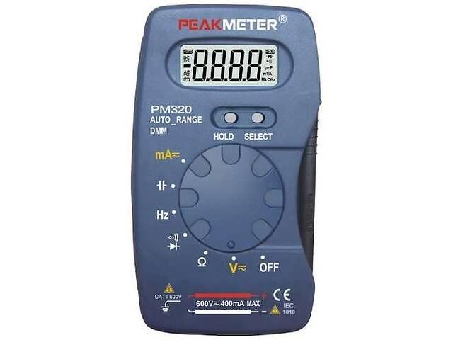 бу Мультиметр портативный с функцией измерения ёмкости и частоты PROTESTER PM320 в Одессе