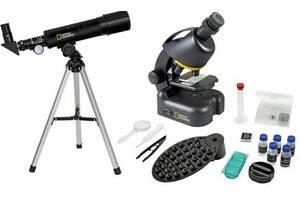 Микроскоп National Geographic Junior черный