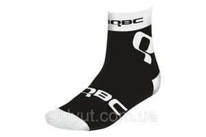 Носки HQBC Q2 CoolMax короткие, Чёрно-белый (XL)