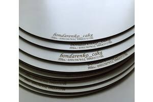 Подложки под торты разных форм и размера с двп, ХДФ, фанера