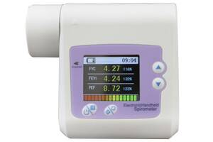 Спирометр спирограф SP10 для определения дыхательной способности с передачей данных на ПК Contec (mpm_00424)