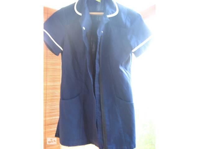 бу Синій халат жакет З М ж. на блискавки, робоча форма. торг в Запоріжжі