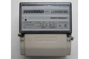 Трехфазные счетчики электроэнергии ЦЭ6803В 10-100А МР30 (новые, в упаковке)